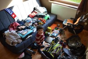Przed spakowaniem plecaków...
