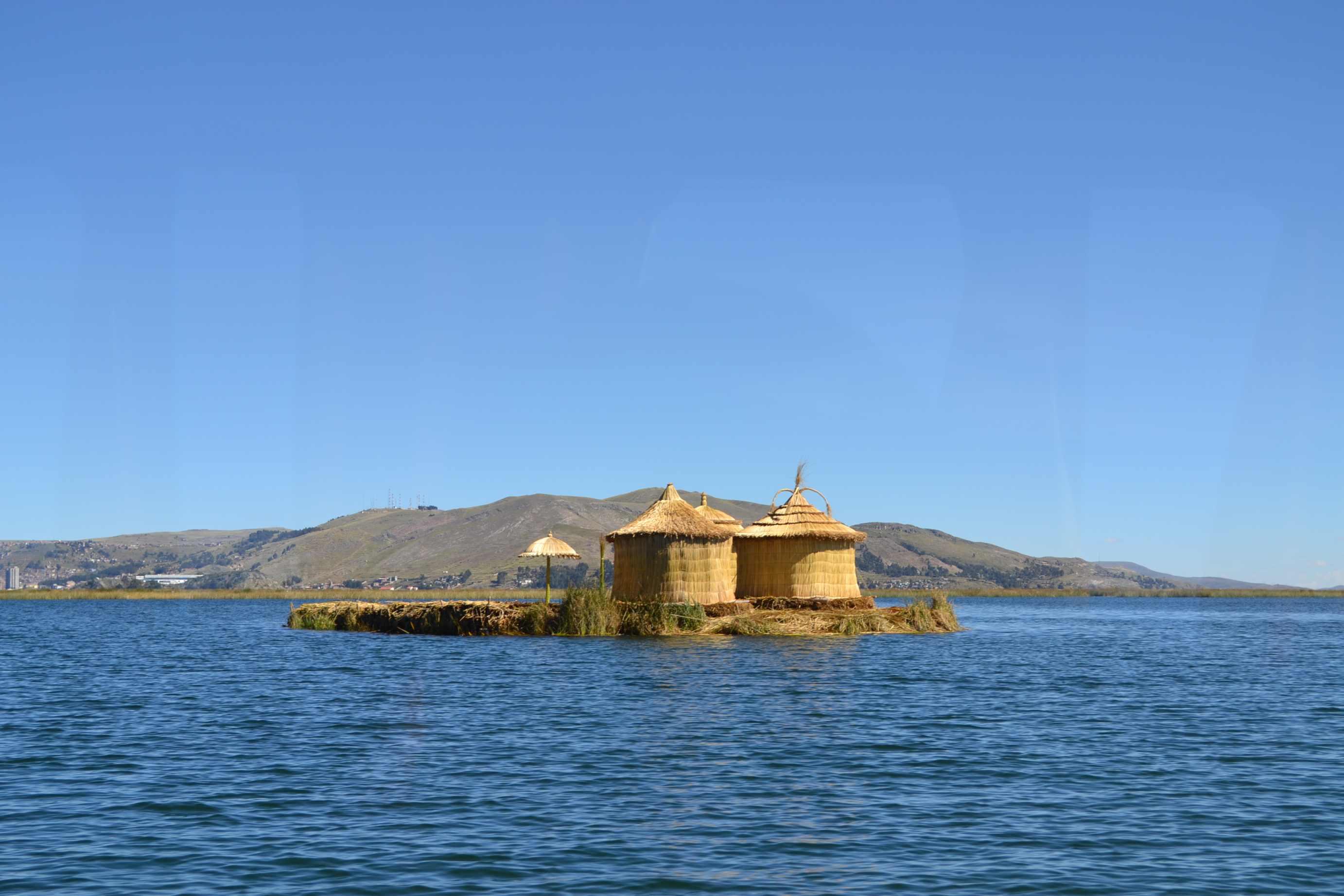 Puno i Jezioro Titicaca