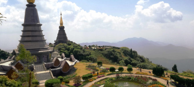 Doi Inthanon – na skuterze na najwyższy szczyt Tajlandii