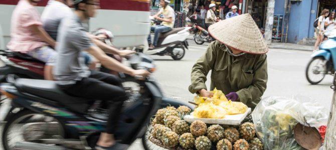 Wietnam – pierwsze dni