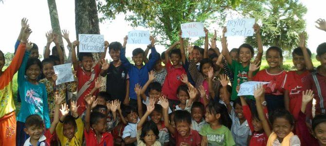 Podziękowania z Kambodży